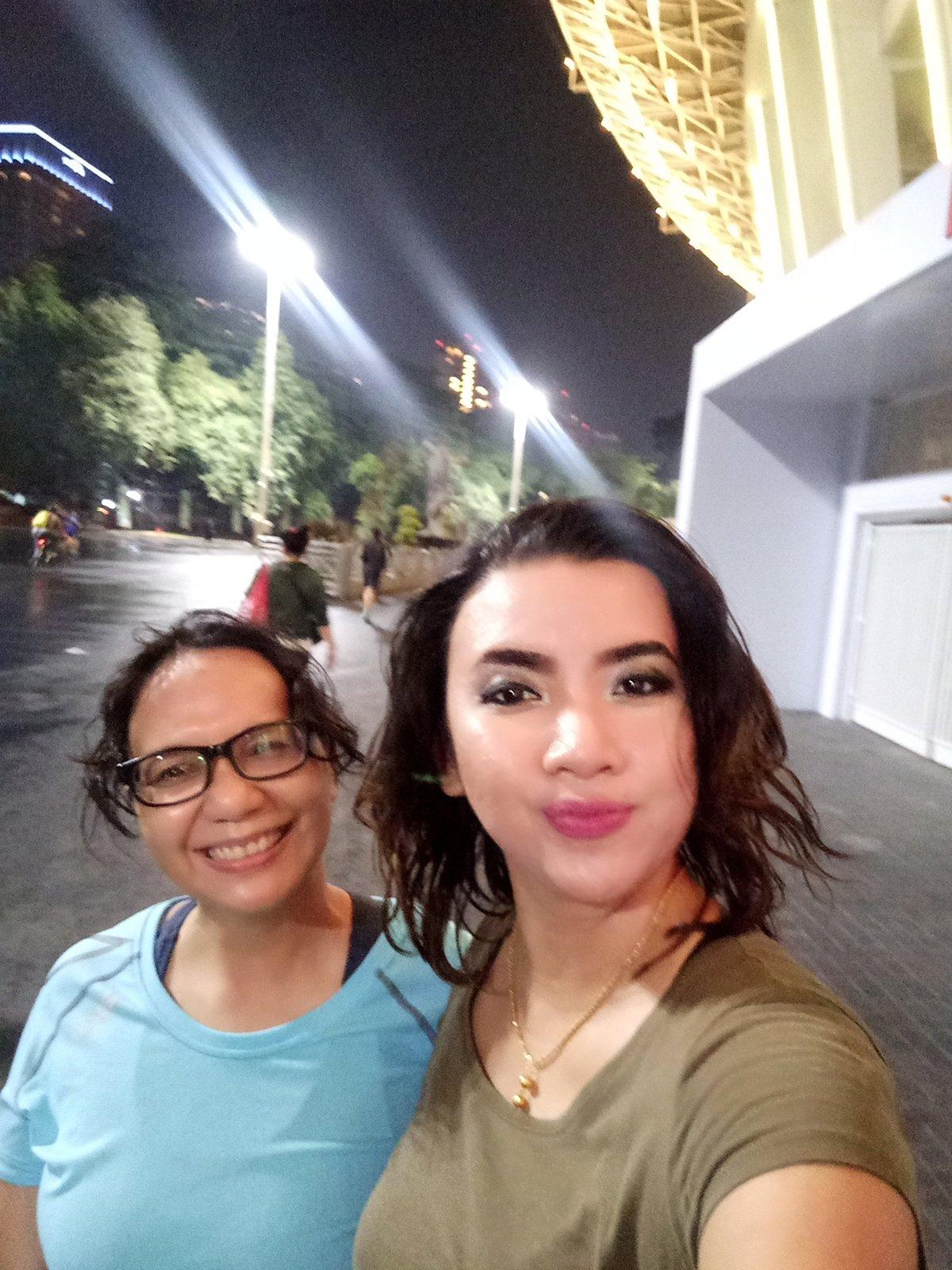 First time running! Enjoying the new GBK stadium #runner #Jakarta https://t.co/64vWJBQx0Y
