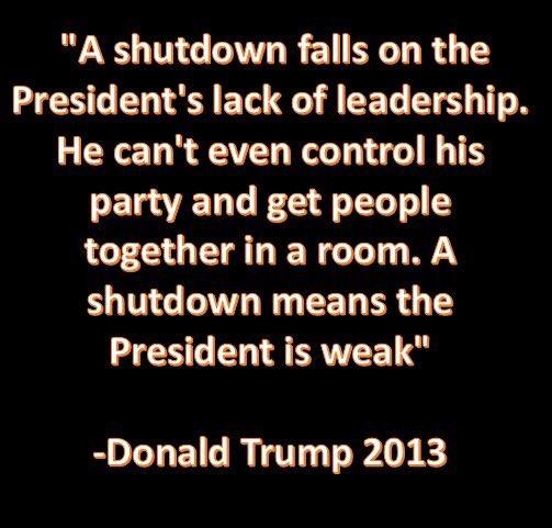 #TrumpShutdown