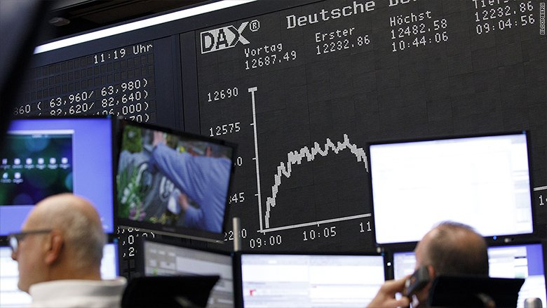 Stock market correction has arrived in Europe
