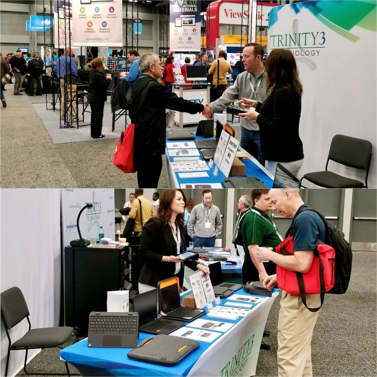 Day one of the @TCEA Convention has started! Stop by and visit us at Booth #406 and enter to win an iPad mini! #TCEA https://t.co/mxxucmKLxj