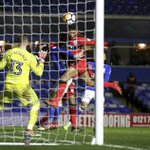 Swansea wins 8-1 in FA Cup, Huddersfield set up Man U match