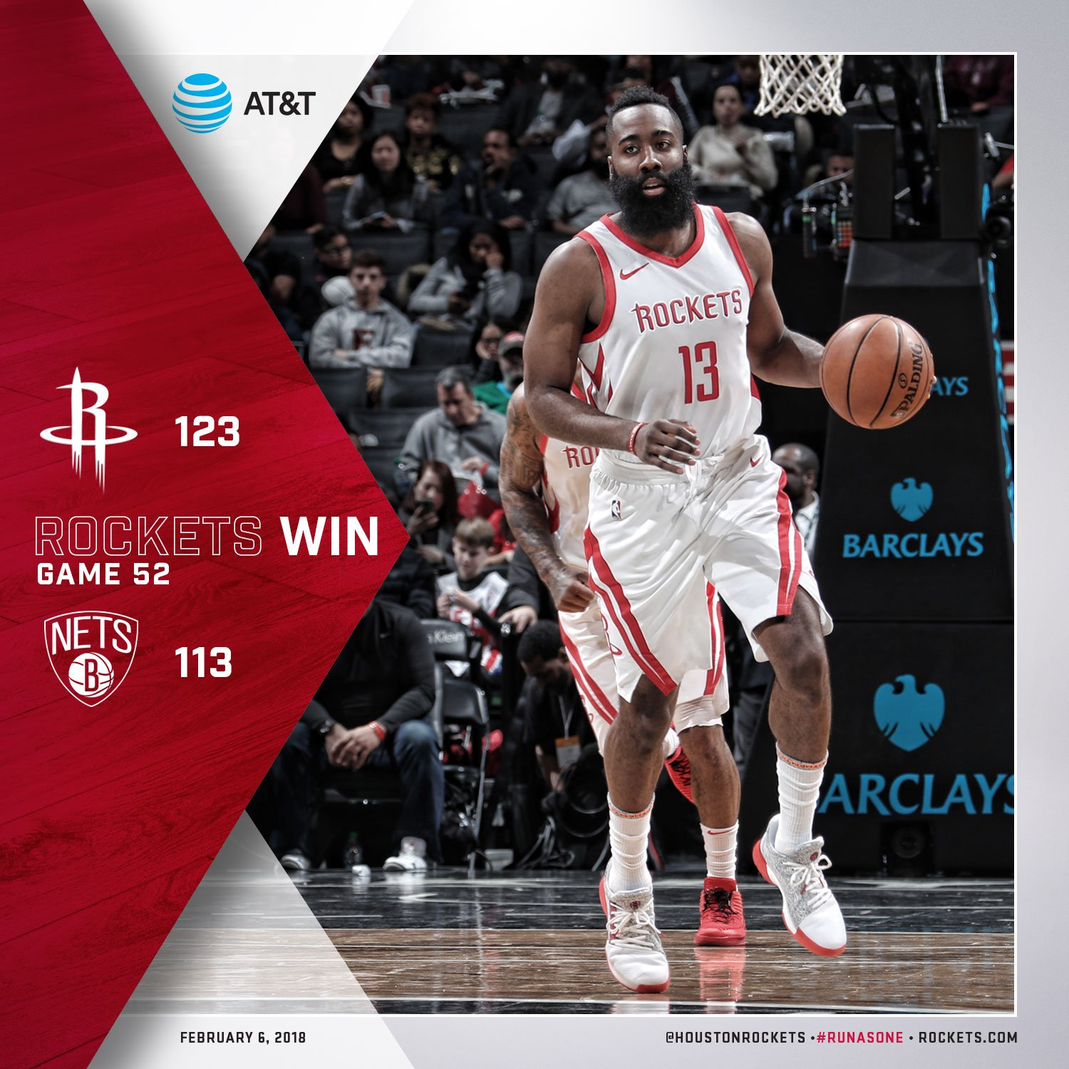 Leaving the Big Apple with a big W! #RunAsOne ��  �� @JHarden13 36pts �� @CP3 25pts/5ast/7reb https://t.co/HoGZrPZw37