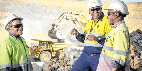 Acacia shares price down