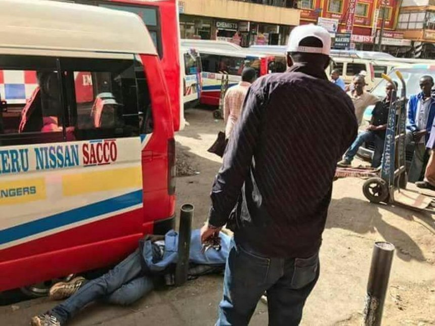 Meru tout under probe for leaving man half-dead over matatu choice