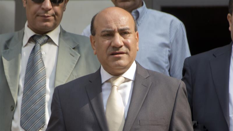 Egypt's former top auditor ordered detained for 15 days
