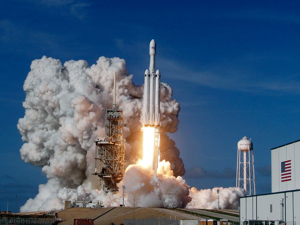 'It seemed surreal': SpaceX successful in maiden launch of world's most powerful rocket