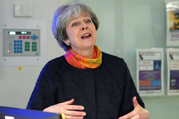 Theresa May has been forced to 'clarify' after using misleading NHS figures https://t.co/Bf9vRdUjoM https://t.co/Z8B1MgwPOl