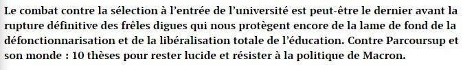 test Twitter Media - #Parcoursup: le dernier combat  Non à la #sélection à l'#université https://t.co/5DyraDynT1 https://t.co/dz4tlhcqjE