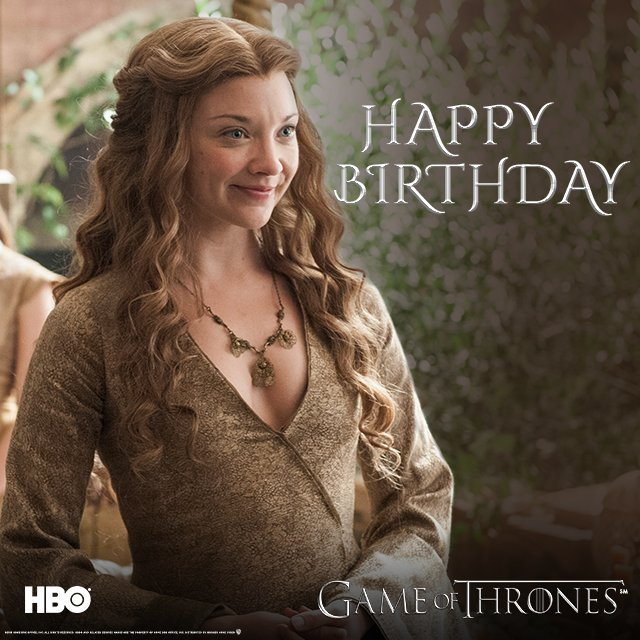 Happy birthday to the craftiest Queen, Natalie Dormer!