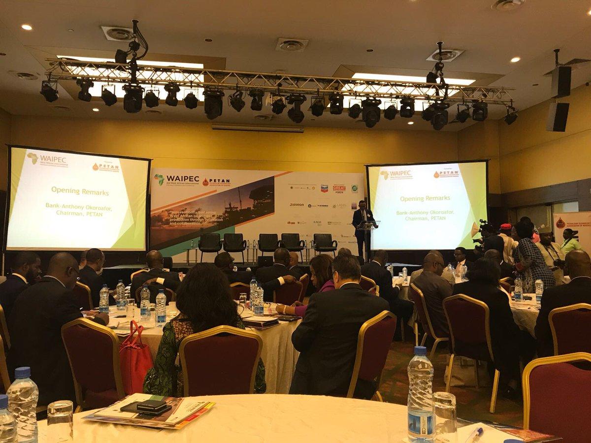 #WAIPEC #PetroleumTechnologyAssociationofNigeria #PETAN #Nigeria @GEP_events https://t.co/c49pd4c1aU
