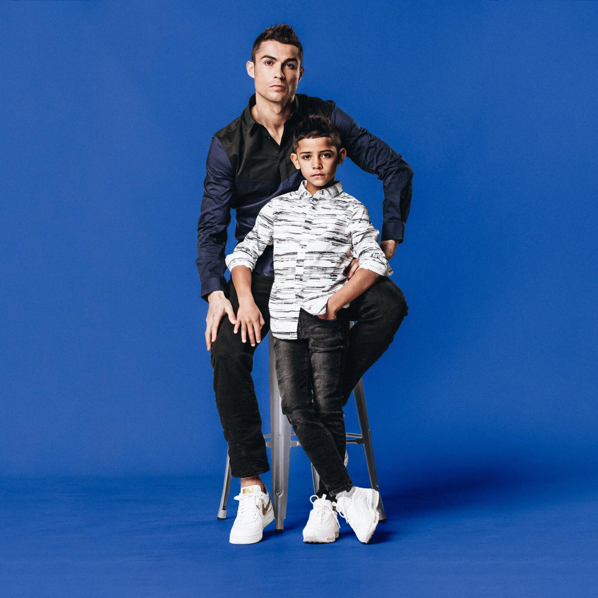Me and my boy ???? Rocking our @cr7limitless & @cr7junior gear | https://t.co/rIL6OxcBQk #CR7Denim #CR7Jeans #CR7Squad https://t.co/wGuGCAP2mg