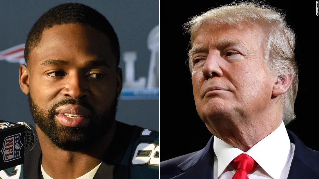 Philadelphia Eagles wide receiver Torrey Smith takes a stand against President Trump https://t.co/o4GQwgegeF https://t.co/rKYJOwybJR