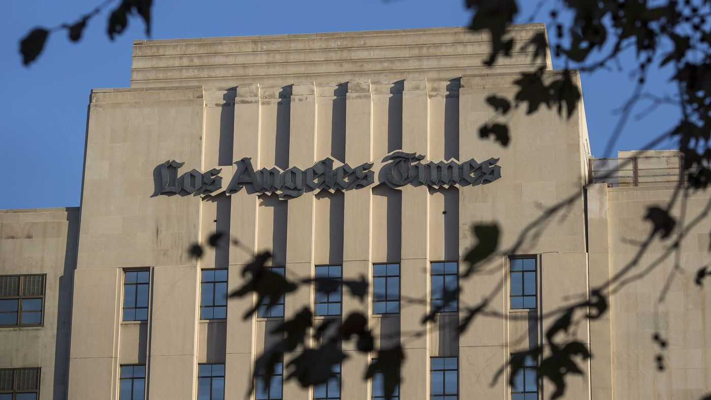 Los Angeles Times, San Diego Union-Tribune sold to billionaire Patrick Soon-Shiong https://t.co/fXSphbQHY0 https://t.co/wTWh496WBn