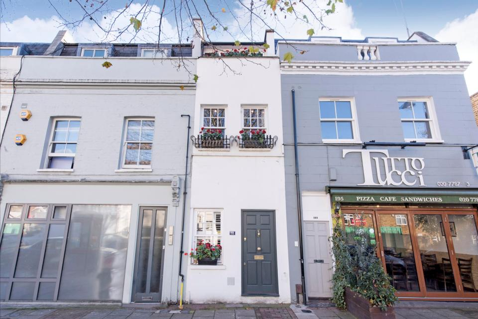 House prices fall again – but this London home that's narrower than a tube train is still selling for £1m