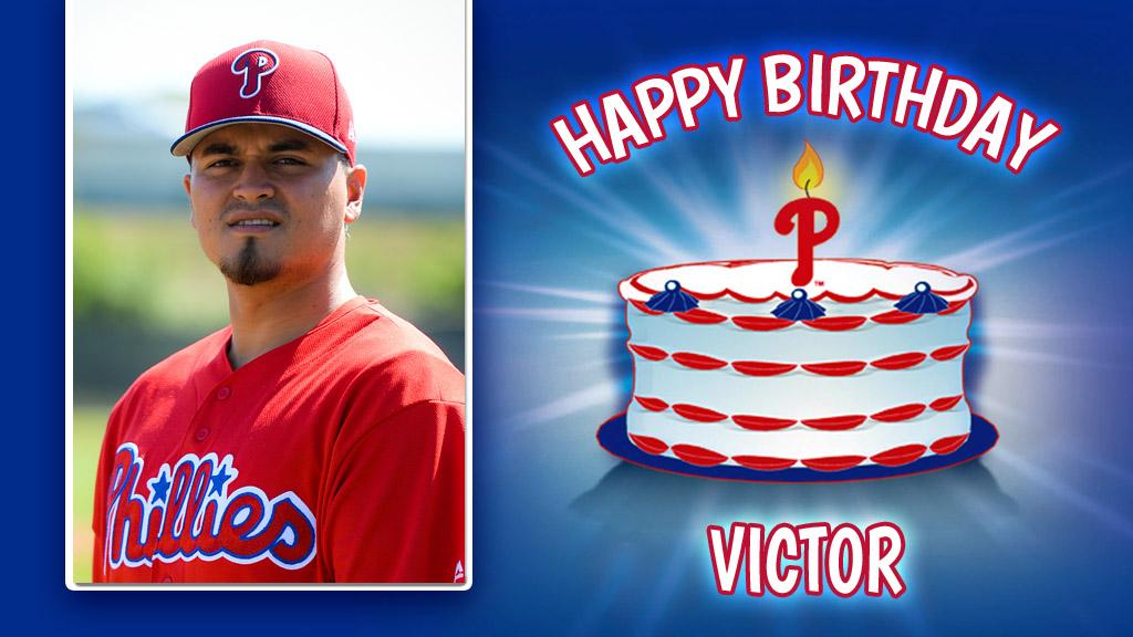 Happy Birthday to #Phillies pitcher Víctor Arano! �������� https://t.co/DG7I769NUE