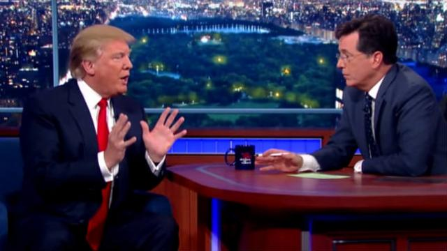 Colbert taunts Trump: People will think you're 'chicken' if you don't talk to Mueller https://t.co/oYeVxNGqNf https://t.co/Ey1ZzBNAPX