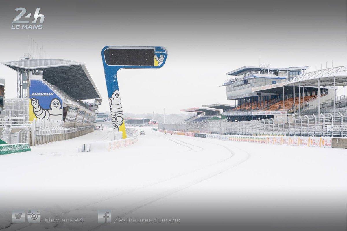 RT @FIAWEC: SNOW ZONE????????❄️⚠️  ???? by @24heuresdumans ????  #WEC #RC #Freitas https://t.co/FYyCJ6gkxG