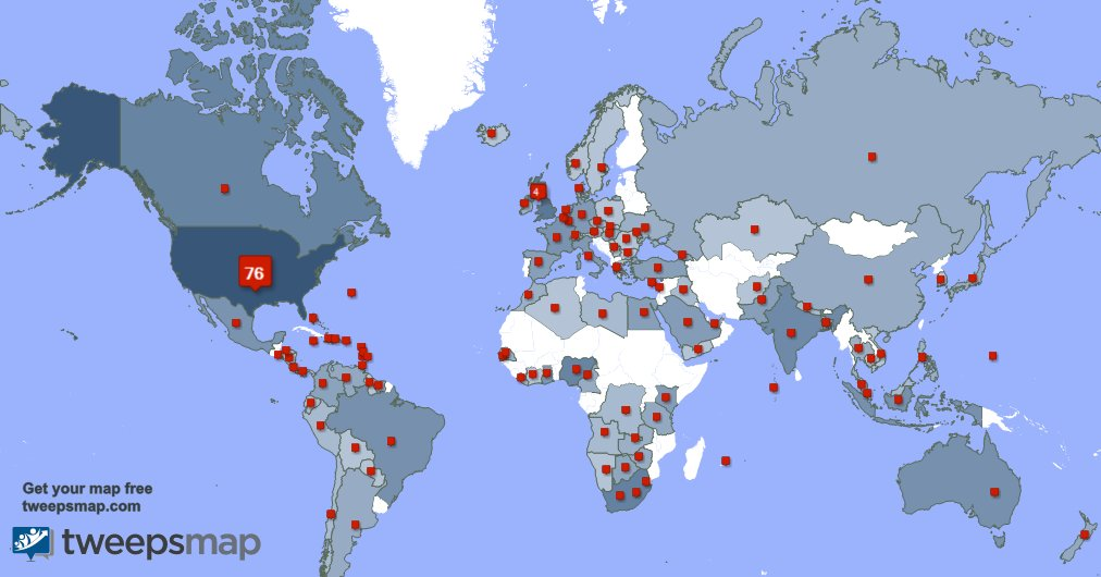 I have 19 new followers from USA, and more last week. See GCleYnYflL fBwri