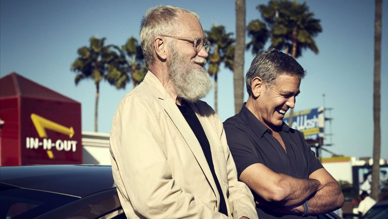 Watch George Clooney, David Letterman visit In-N-Out in Netflix talk show clip