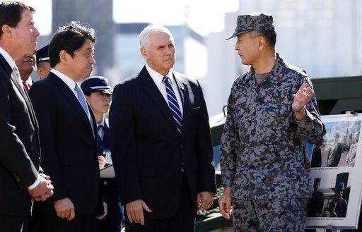 Pence says US to unveil 'toughest' sanctions on N. Korea