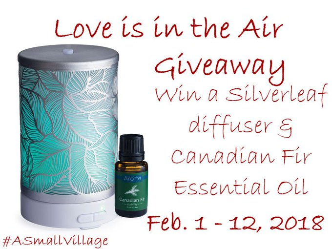 Love is in the Air Giveaway 2/12 @airomeessential