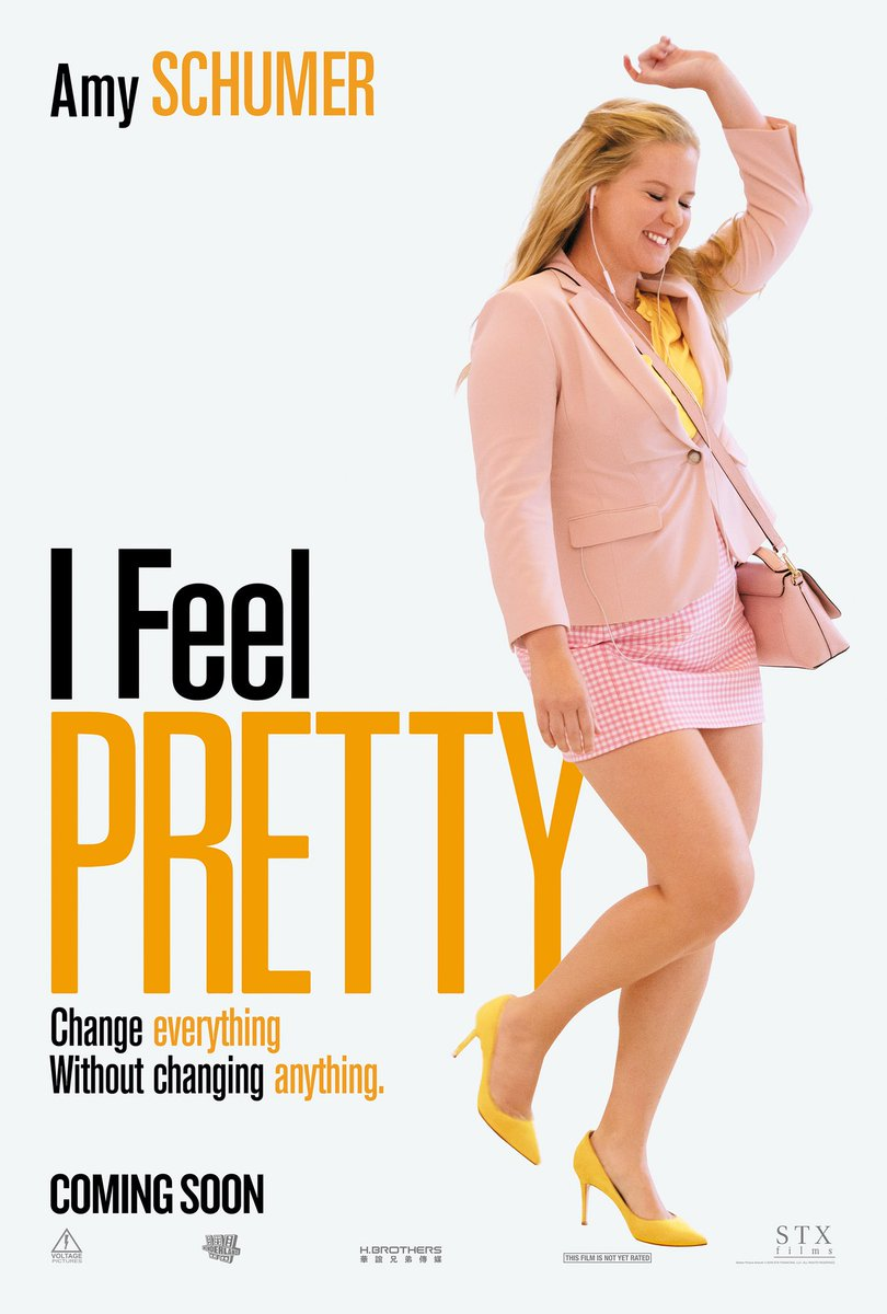 Check out the poster for @IFeelPretty! Trailer tomorrow! https://t.co/b7ybRcXBgb
