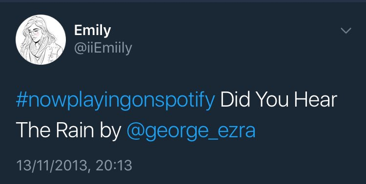 @george_ezra I've been tweeting you since 2013, can I finally get a reply? X #greatatmos #petan https://t.co/sP3oalEBiB