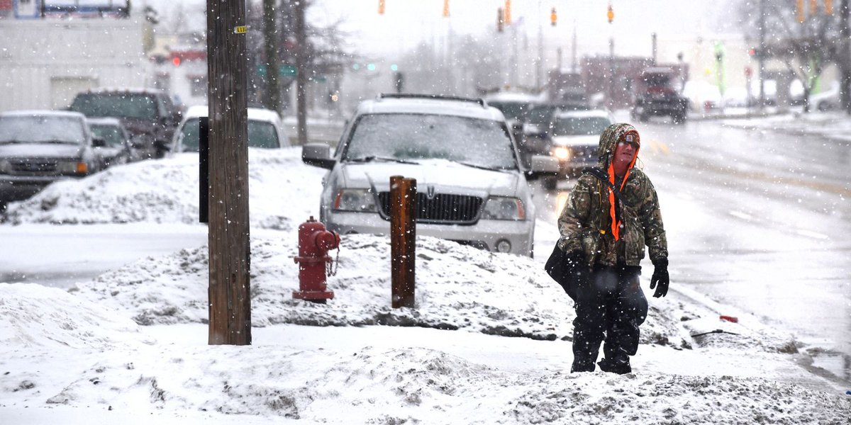 5-9 inches of snow expected Friday