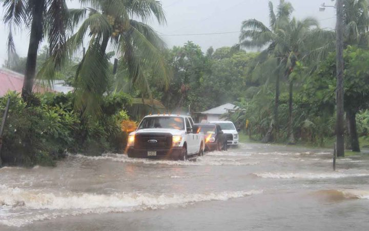 Schools close in American Samoa as rain causes flooding