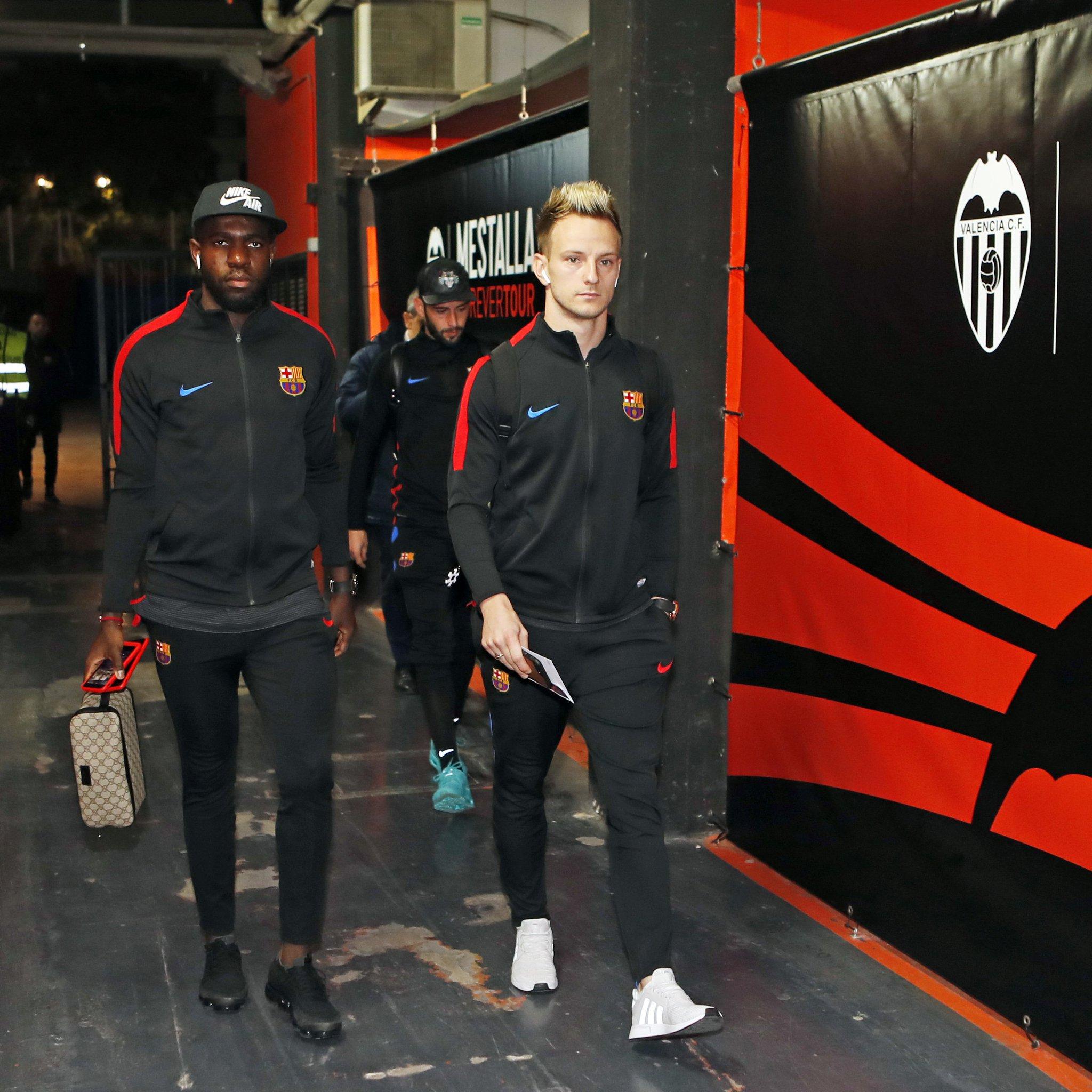 ゚ヤᆬ Matchday!!! ¬レᄑ Valencia v FC Barcelona ゚ユ゚ 9.30 pm CET ゚マニ Copa del Rey ゚モヘ Mestalla ゚モᄇ #CopaBarᅢᄃa ゚ヤᄉ゚ヤᄡ #ForᅢᄃaBarᅢᄃa https://t.co/UlEF05IX5I