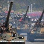 North Korea military parade ahead of Winter Olympics