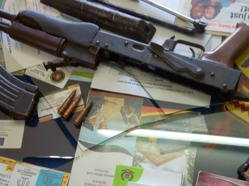 Two suspected thugs arrested in Iten, AK47 rifle recovered