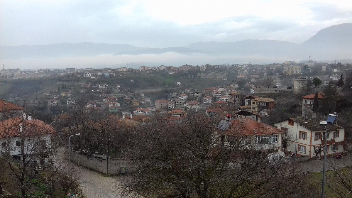 Half-day off to visit Safranbolu and let the rain pass away !