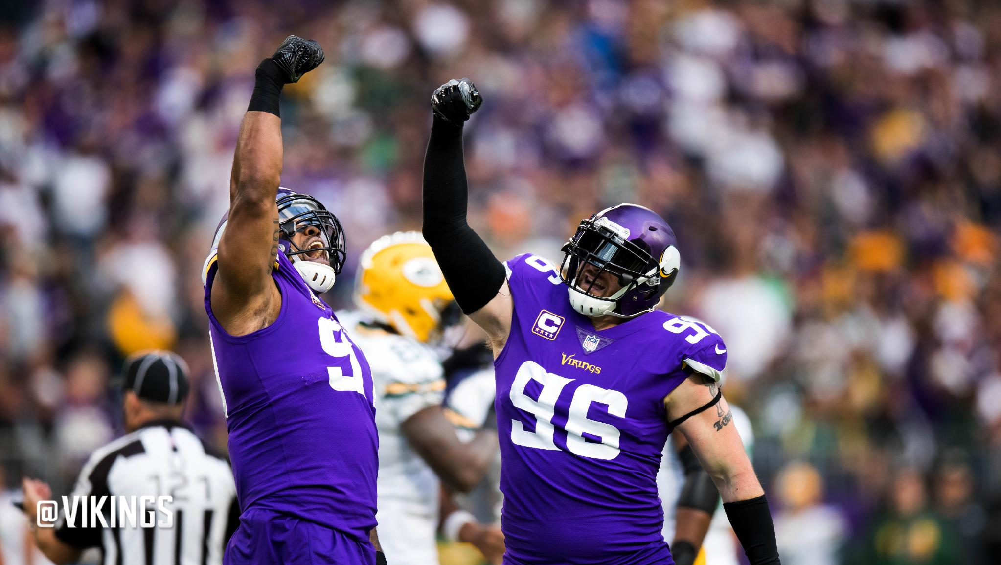 The #Vikings defensive line dominated once again in 2017.   ��: https://t.co/KfDFwBontA https://t.co/zA1zFyJcUe
