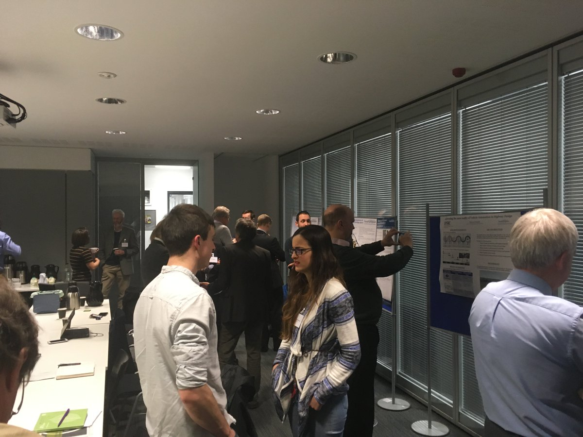 test Twitter Media - Poster presentations at the CDT-SIS steering committee day! Well done and thank you to all the students who presented posters! https://t.co/C5dmNdfIjy
