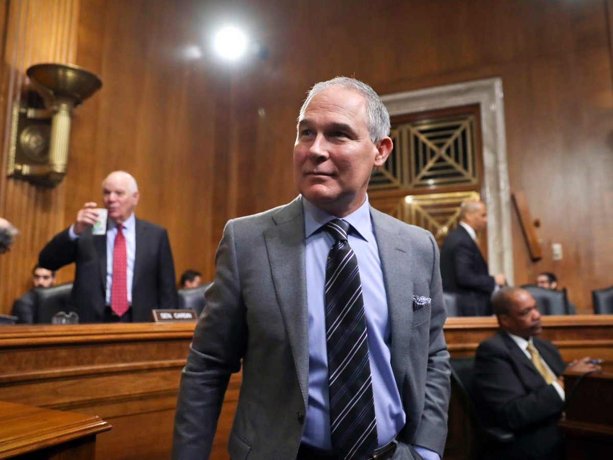 Head of U.S. Environmental Protection Agency asks: Is global warming really a bad thing?