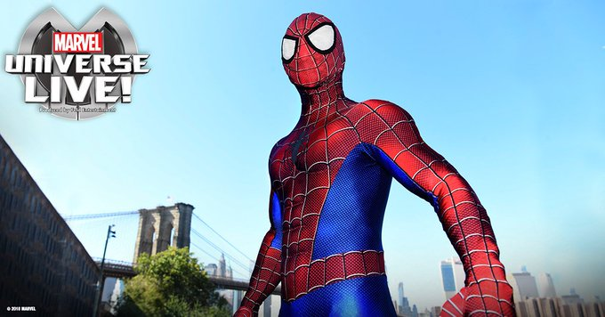 See Spider-Man in Marvel Universe LIVE!