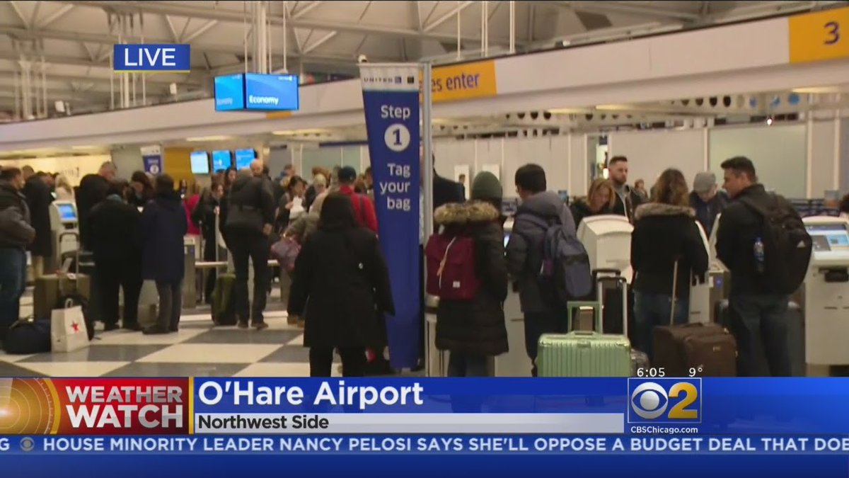 Airlines Preparing For Significant Chicago Snowstorm