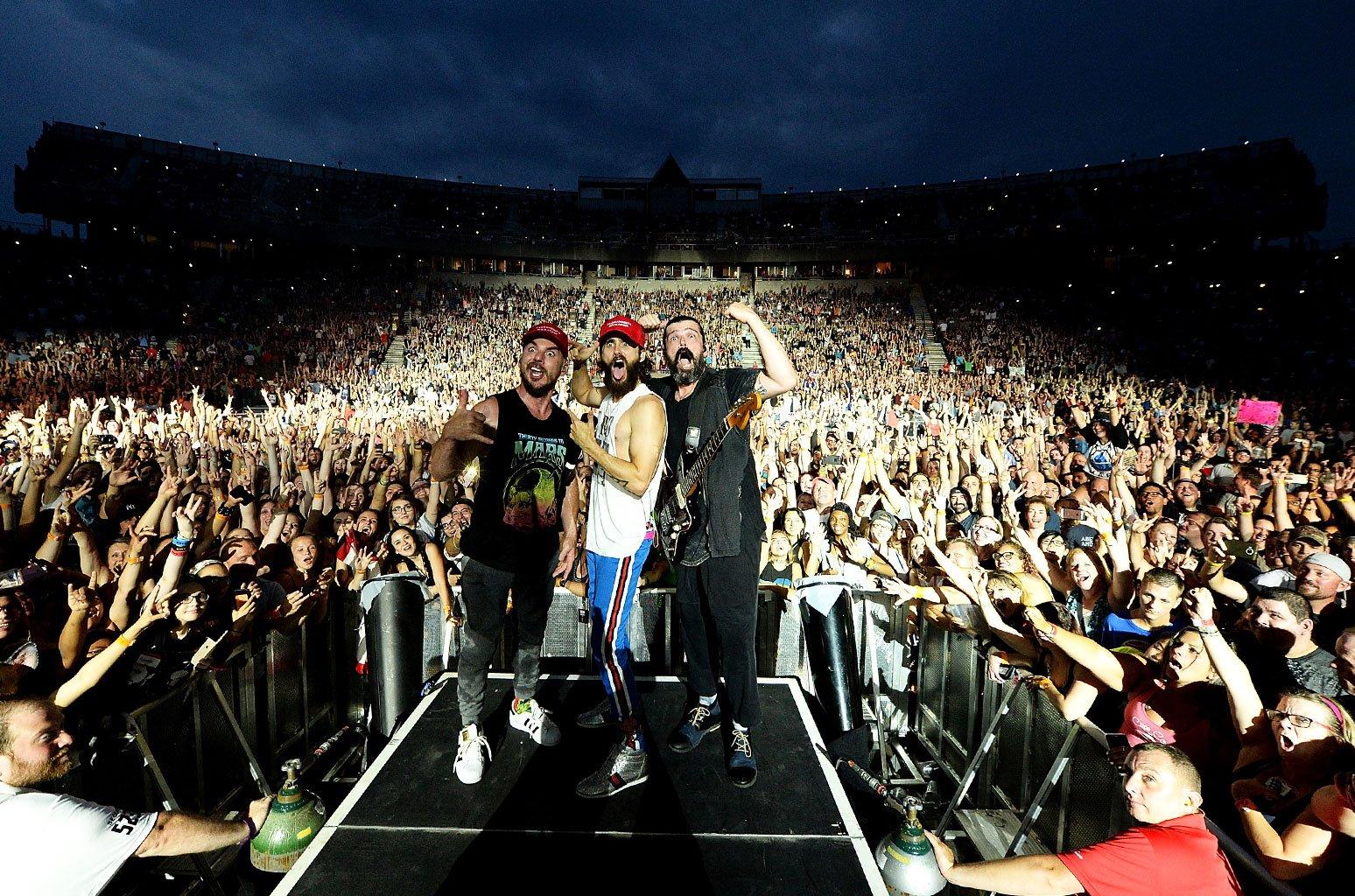 Thirty Seconds to Mars announce new album release date & summer tour dates https://t.co/dg5fDugKar https://t.co/mju9ncbQSl