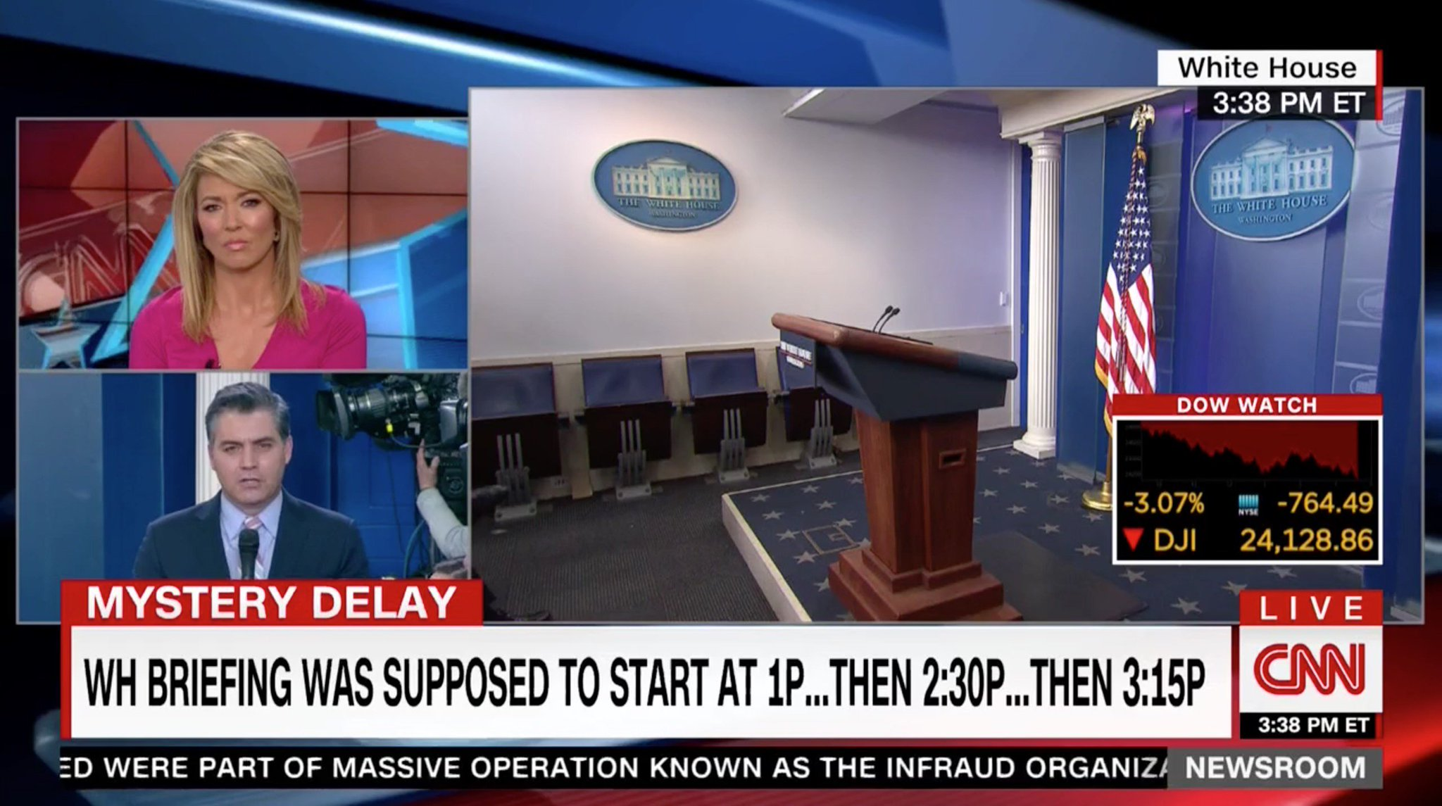 CNN is Not Happy WH Deputy Press Sec Raj Shah Showed Up Three Hours Late to the Briefing https://t.co/vNWgUzGm7E https://t.co/ECk86XUglx