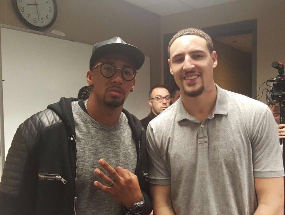All the best @KlayThompson, have a good one 🙌🏾💯 @NBA https://t.co/Cs4tE5dxXG