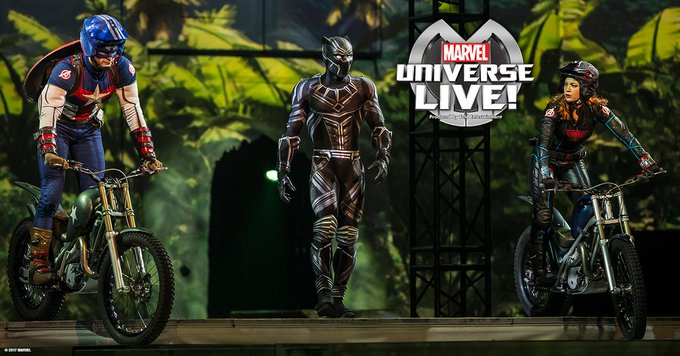 Marvel Universe LIVE! is coming to town...