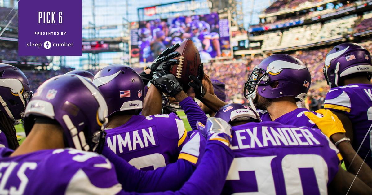FAN Q: Outside of QB, what positions will the #Vikings focus on this offseason?  PICK 6: https://t.co/ozNDRg9jES https://t.co/yaGYDRpvyD