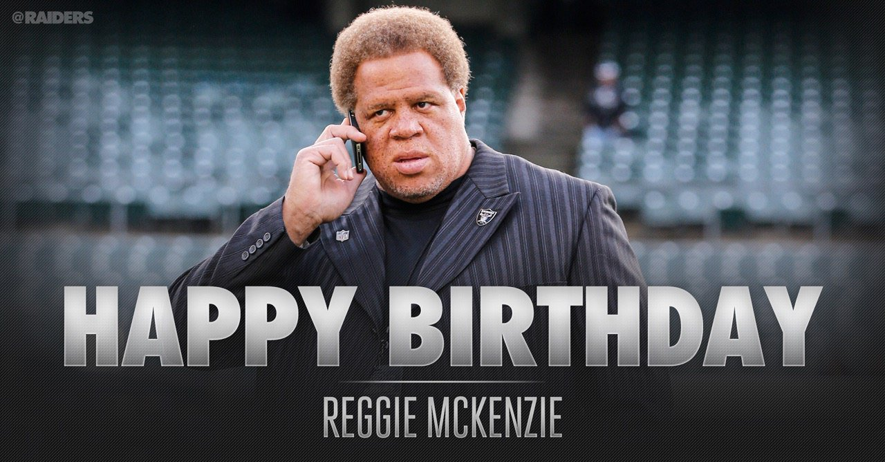 This one's for the twins.  Happy birthday to GM Reggie McKenzie and college scout Raleigh McKenzie! https://t.co/olIleZb2Xo