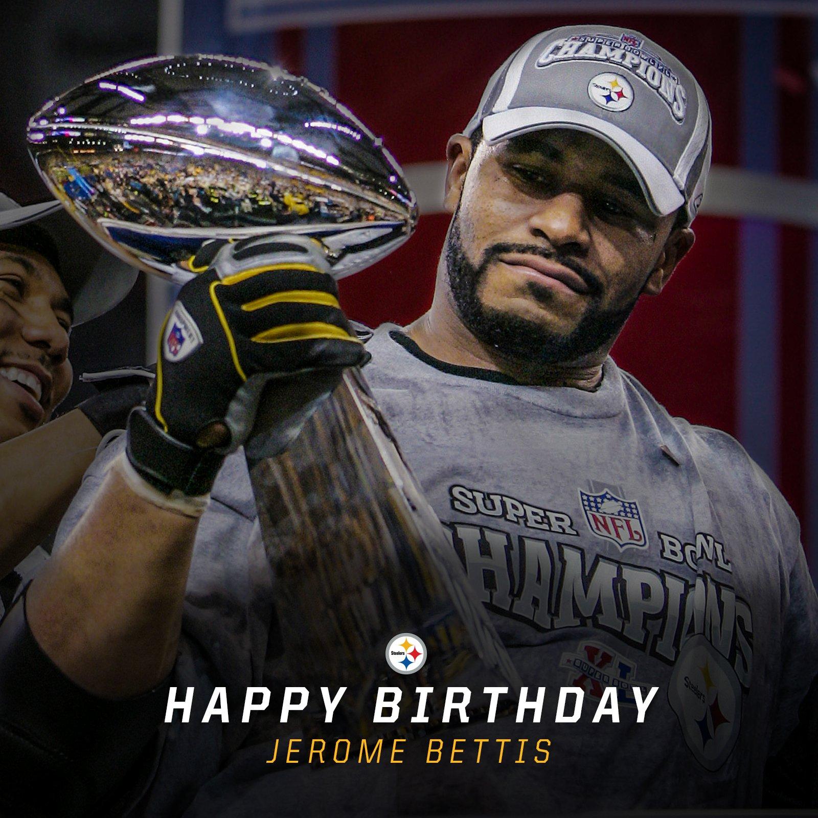 #HappyBusDay @JeromeBettis36‼️ https://t.co/Y6jUA7cSQD