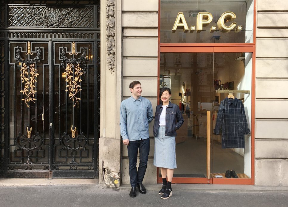 #APC Staff  パリ ロワイヤル通り店 https://t.co/96Vry0ksvn