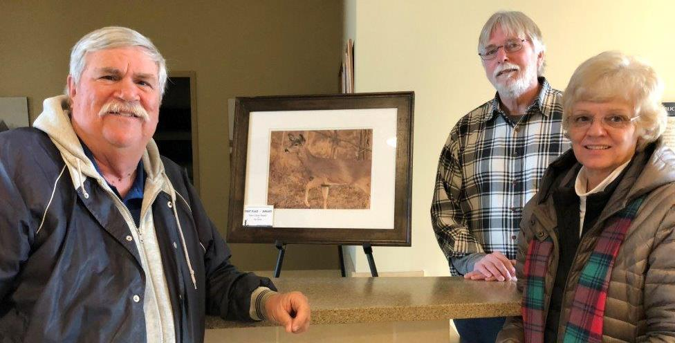test Twitter Media - Congrats Tim Verner! January winner of the Friends of Parkville Nature Sanctuary's monthly photo contest. Stop by & see his photo @parkvillemo City Hall & Parkville Coffeehouse. L-R: FOPNS VP/Contest Chair Brent Frazee, PNS Director Joe Ryan & FOPNS President Jeanne Pyland. https://t.co/5ydj3ZyQuE