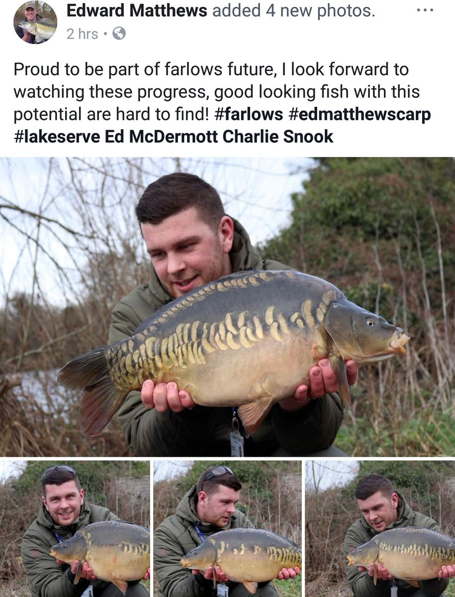 Once again both Ed's don't disappoint with <b>Stunning</b> fish!  #farlows #future #carpfishing #day