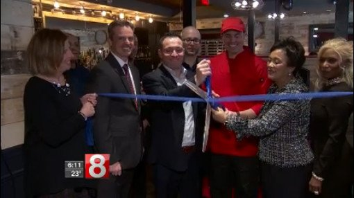 Ribbon-cutting ceremony held for new restaurant in New Haven