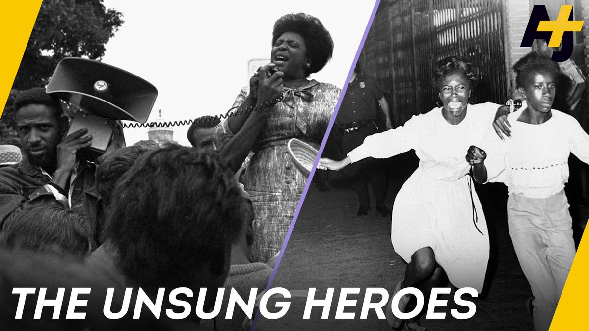 RT @ajplus: Apart from Rosa Parks, how many women can you name from the civil rights movement? https://t.co/Zgy1y5VGBY